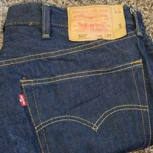 Men's 501 Levi jeans